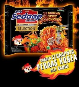 Mie Sedap Samyang / Sedap Goreng Korean Spicy Chicken