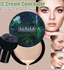 Alas Bedak Sunisa Fondation Cushion Waterproof / CC Cream