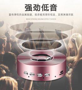 Speaker Bluetooth HP Pink
