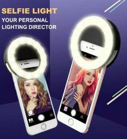 Lampu Selfie Bulat Untuk Kamera / Ring Light Selfie LED
