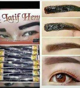 Henna Al Latif Hena Alis Brown / Tato Alis Halal Bisa Untuk Sholat