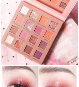 Palate Eyeshadow 16 Warna Free Kuas Eyeshadow