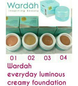 Creamy Foundation Wardah Everyday Luminous Light Feel / Extra Cover