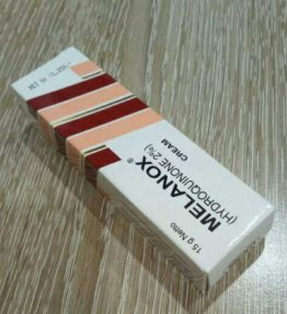 Krim Melanox Penghilang Flek Bintik Hitam Bekas Jerawat