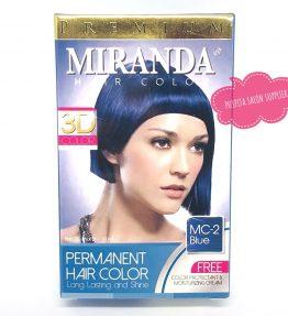 Semir Rambut Miranda Biru / Blue