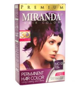 Semir Rambut Miranda Ungu / Rose Purple