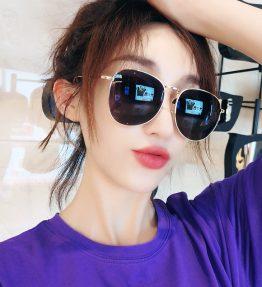 Kacamata Anti UV Cewe Cowo Bisa Pakai Kaca Hitam