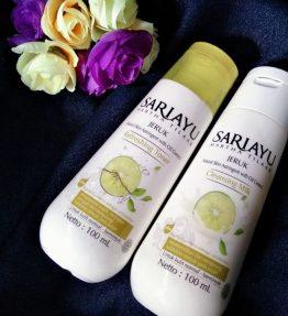 Sariayu Cleanser Milk / Toner Jeruk