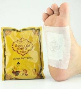Koyo Detox Kaki Lanna Foot Patch Original