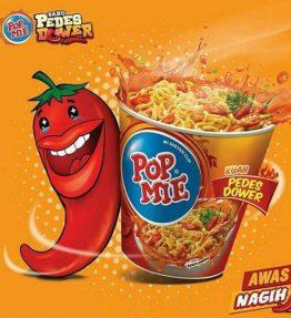 Pop Mie / PopMie Kuah Pedes Dower