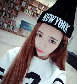 Topi Rajut Hangat New York