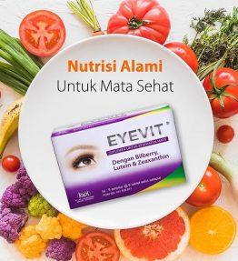 Eyevit Tablet Vitamin dan Memelihara Kesehatan Mata
