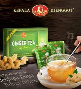 Teh Jahe Kepala Djenggot / Ginger Tea