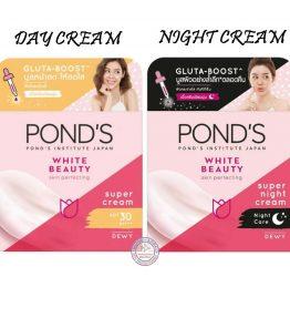 Cream Pond's White Beauty Dewy Day / Night Cream
