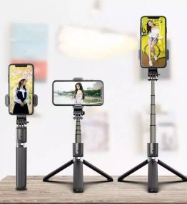 L03 Tongsis Tongkost Selfie 3in1 Tripod Bluetooth