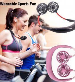 Kipas Angin Gantung Leher Portable Olahraga