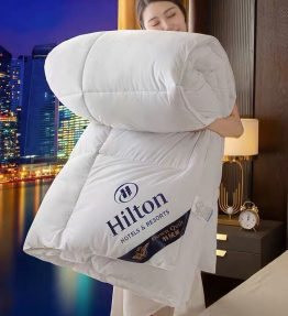 Selimut Katun Kapas Hangat Hilton Musim Dingin