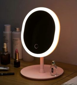 Cermin Rias Lampu LED USB / Kaca Makeup