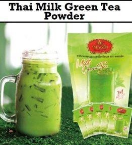 Thai Milk Green tea Instan Powder