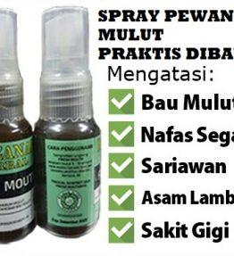 Khazanah herbal Spray Pengharum Mulut Penyegar & Penghilang Bau Mulut