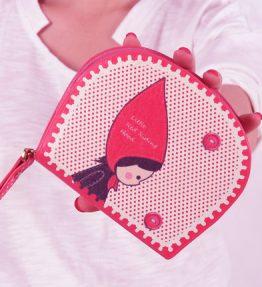 Dompet Merah Wanita Topi Merah
