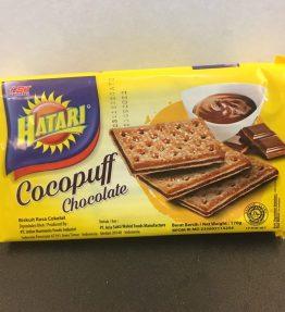 Biskuit Hatari Cocopuff Coklat