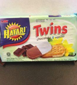 Biskuit Hatari Coklat Vanila