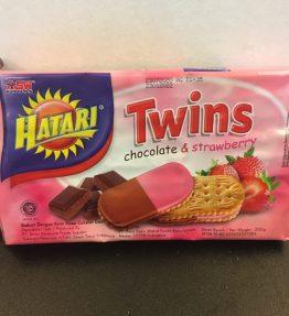 Biskuit Hatari Coklat Strawberry