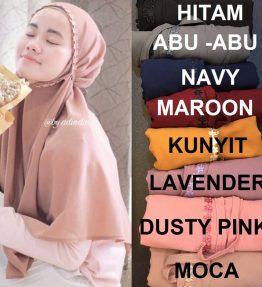 Hijab Instan Bergo Melati Tali Belakang