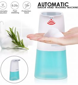 Tempat Sabun Cuci Tangan Otomatis Penghasil Busa