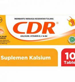 Minuman CDR Vitamin Kalsium D C B6 Rasa Jeruk