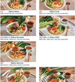 Aneka Makanan Beku Freezer Baso Set Halal
