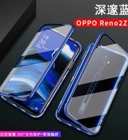 Casing HP Oppo Reno 2Z Magnet Depan Belakang