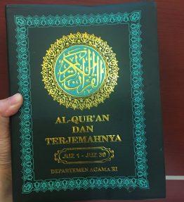 Buku Al Quran Ukuran Besar Terjemahan Indonesia