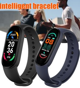 Jam Tangan Pintar Konek Ke HP Smarband Smart Bracelet M6