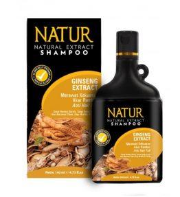 Shampoo Natur Gingseng Perawatan Rambut Rontok