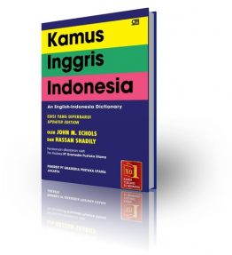 Buku Kamus Inggris Indonesia Edisi Diperbarui PT Gramedia
