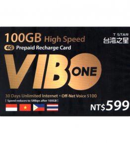 Kartu Pulsa Isi Ulang Vibo Internet 4G Sepuasnya 599